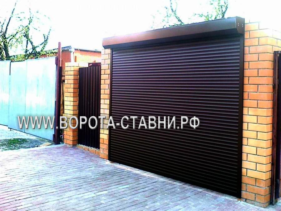 Рулонные ворота в Домодедово, ул. Партизанская