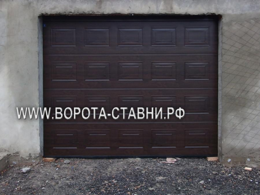 установка ворот в Домодедово