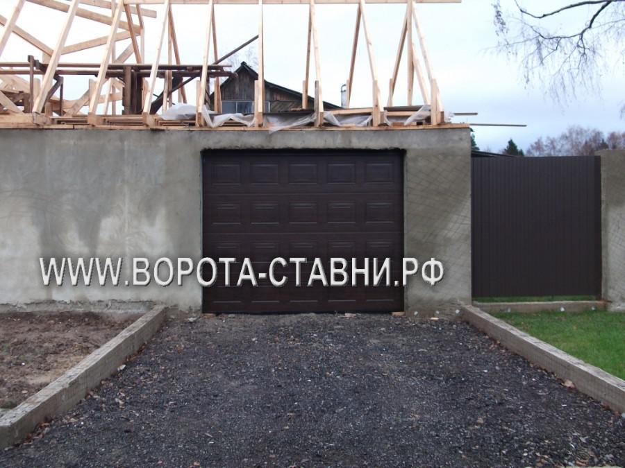 установка ворот в Домодедовском районе