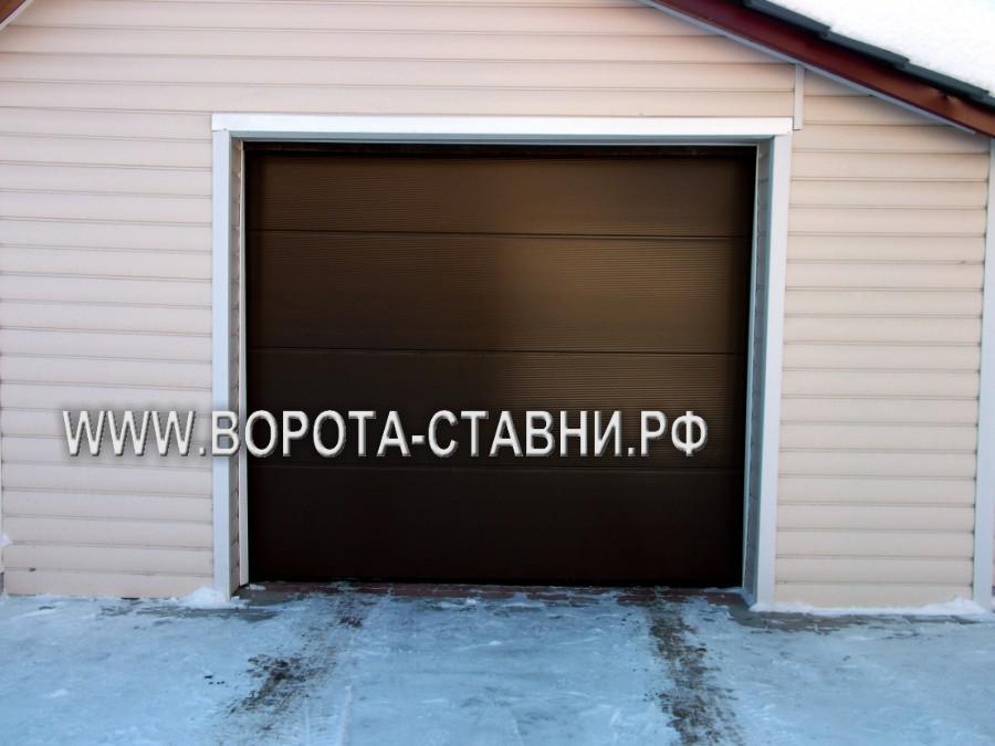 Секционные ворота в Домодедово ул. Южная