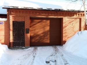 Гаражные ворота Hormann в Домодедово, ул. Центральная