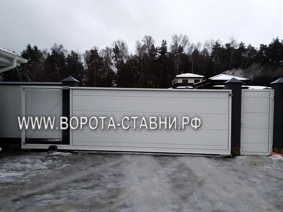 откатные ворота в Подольске