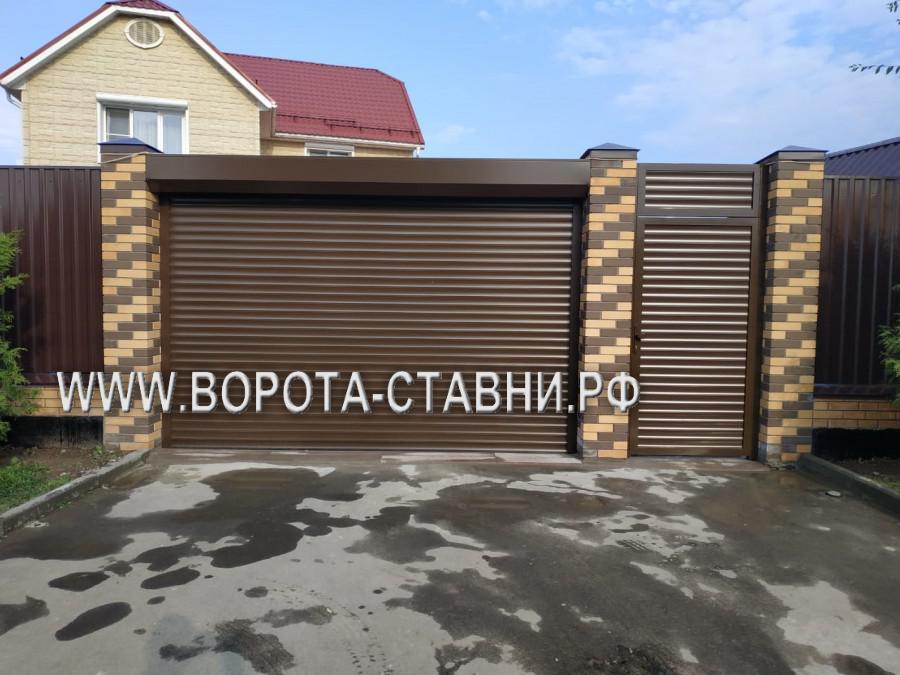 Ворота в Ленинском районе