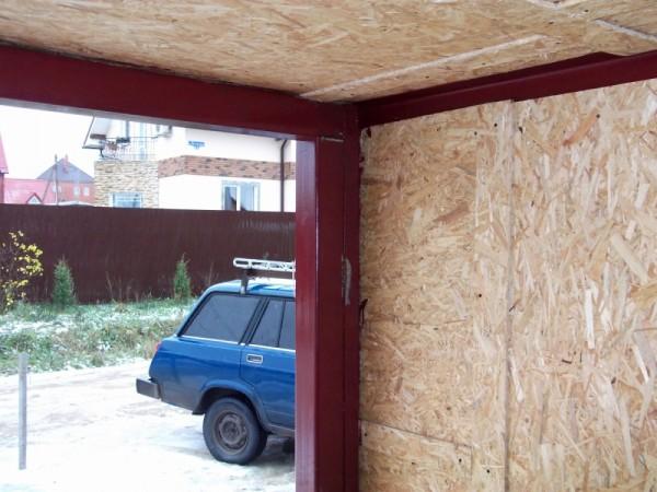 Установка ворот с низкой притолокой и небольшими от расстояниями от проема до стены