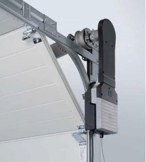 Вариант вертикального монтажа привода Херманн WA300