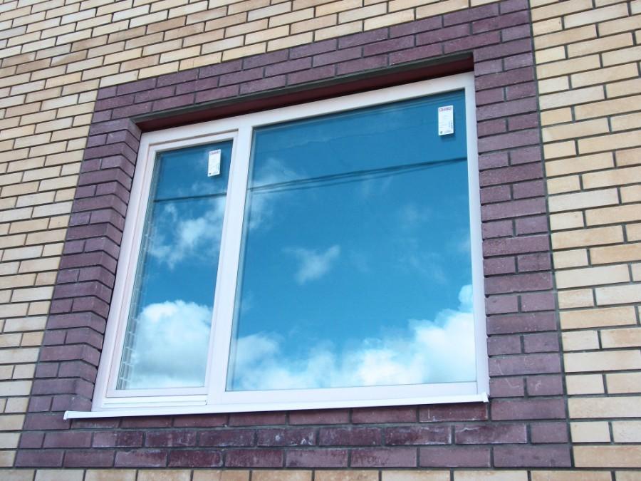 окно до установки рольставни Домодедово